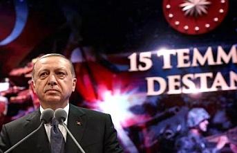 Cumhurbaşkanı Erdoğan'dan 15 Temmuz mesajı; Herkes milli iradeye sımsıkı sahip çıkmıştır