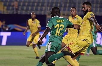 Diagne'li Senegal'de yarı final sevinci