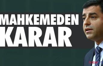 Eski HDP Eş Genel Başkanı Selahattin Demirtaş hakkında tutukluluk kararı!