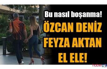 Evlilikleri tek celsede bitiren Özcan Deniz ve Feyza Aktan Bodrum'da el ele!