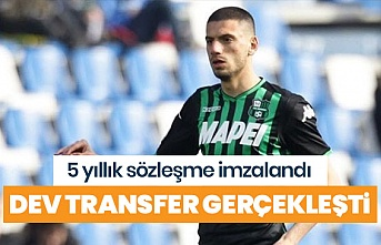 Fenerbahçe'li Merih Demiral İtalyan devi Juventus'a transfer oldu