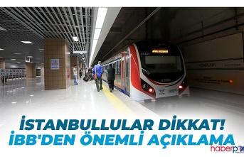 İBB'den İstanbullulara ulaşım müjdesi! O tarihlerde ücretsiz olacak