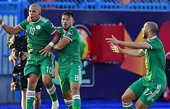 Nijerya'nın yarı final rakibi penaltılarla maçı 4-3 alan Cezayir oldu