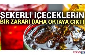 Şeker içeren içecekler kanser riskini artırıyor