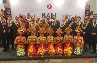 Türk Hava Yolları Endonezya'nın dünyaca ünlü tatil adası Bali'yi uçuş ağına ekledi