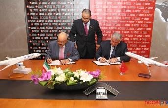 Türk Hava Yolları ve O Ülkenin Hava Yolları ile Kod Paylaşımı Anlaşması İmzaladı.