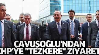 CHP Lideri Kılıçdaroğlu'na tezkere ziyareti yapan Çavuşoğlu'ndan ilk açıklama