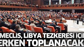 TBMM, Libya Tezkeresi için toplanıyor! AKP Grup Başkanlığı'ndan vekillerine hazırlıklı olun uyarısı