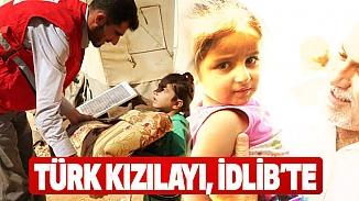 Türk Kızılayı İdlib'deki siviller için yardım seferberliği başlattı