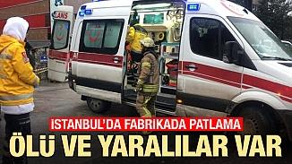Ümraniye'de cam fabrikasının kazanı patladı! İmalathanede çalışan işçilerden ölü ve yaralılar var