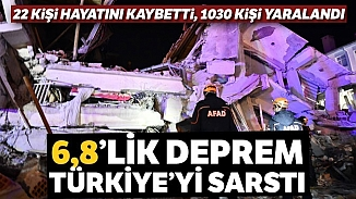 6,8 büyüklüğünde depremde ölü sayısı 22'ye yükseldi; Çok sayıda yaralı var