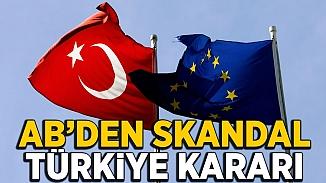AB'den skandal karar! Türkiye'ye katılım öncesi yapılan yardım kısıtlandı
