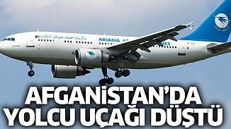 Afganistan'a ait yolcu uçağı düştü! 83 yolcu hayatını kaybetti
