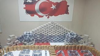Ağrı'da TIR'ın dorsesine saklanmış 183 kilo uyuşturucu ele geçirildi
