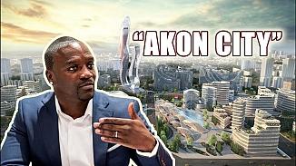 Akon, Senegal'de kendisine hediye edilen bölgeye kendi şehrini kurdu