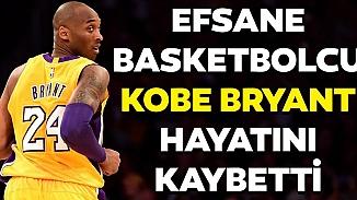 Basketbolun efsane ismi Kobe Bryant, helikopter kazasında yaşamını yitirdi