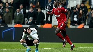 Beşiktaş lider Sivasspor'a boyun eydi