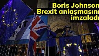 Brexit anlaşması, Başbakan Johnson tarafından imzalanarak onaylandı