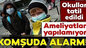 Bulgaristan'ı grip salgını esir aldı! 1300 okulda grip tatili ilan edildi
