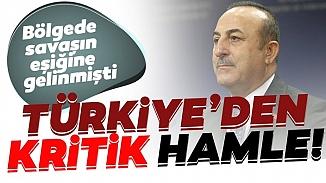 Dışişleri Bakanı Çavuşoğlu, sıcak bölgeye gidiyor!Çavuşoğlu yarın Irak'a gideceğini açıkladı