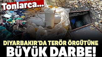 Diyarbakır'da büyük operasyon! Tonlarca esrar ele geçirildi