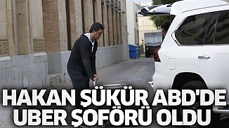 Eski milli futbolcu Hakan Şükür, ABD'de Uber şoförü oldu