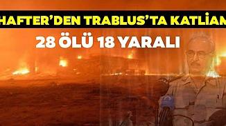 Hafter güçleri askeri okulu bombaladı! Çok sayıda ölü ve yaralı var