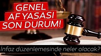 İkinci Yargı Paketi gelişmelerinde son durum! 2020 Af yasası Meclise girdi mi?