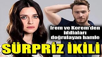 İrem Helvacıoğlu ve Kerem Bürsin rol arkadaşı olacaklar