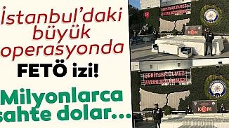 İstanbul'da sahte para operasyonu! İki ilçede 127 milyon 500 bin ABD Doları basılmış