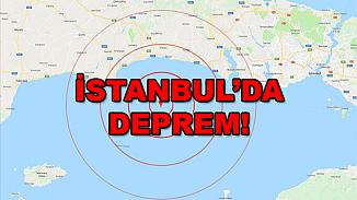 İstanbul Şile'de deprem! 3.1 büyüklüğünde salladı