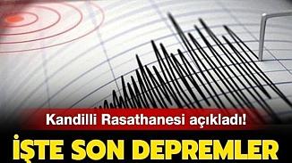 İzmir'de korkutan deprem! Korku yaratan depremin şiddeti ve merkezi neresi?