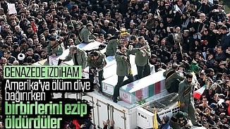 Kasım Süleymani'nin cenazesinde izdiham! 35 kişi hayatını kaybetti çok sayıda yaralı var