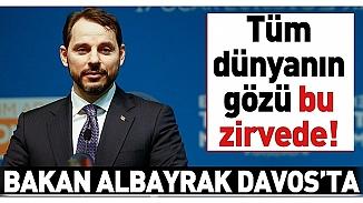 Maliye Bakanı Albarak, Davos zirvesinde konuştu; Türk varlıklarına güven ciddi boyutlarda