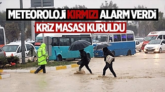 Meteoroloji kırmızı alarm vermişti! Sağanak yağış ve sel Mersin'de can aldı