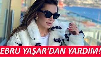 Şarkıcı Ebru Yaşar Elazığ'daki depremzedeler için harekete geçti
