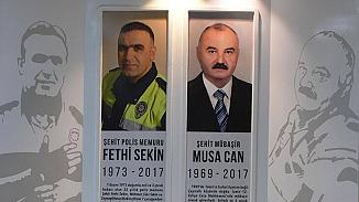 Şehit Fethi Sekin ve Musa Can ölümlerinin 3. yıl dönümlerinde unutulmadılar
