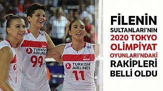Türkiye A Milli Kadın Voleybol Takımı'nın Tokyo'da olimpiyatlarındaki rakipleri belirlendi