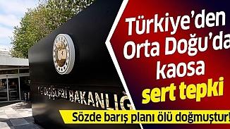 Türkiye'nin sert tepki gösterdiği Ortadoğu planına BM ve AB'den çözüm vurgusu