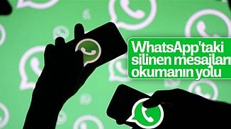 WhatsApp'ta silinen mesajı okumanın hilesi ortaya çıktı