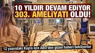 12 yaşındaki çocuk, 10 yılda 303 ameliyat oldu!