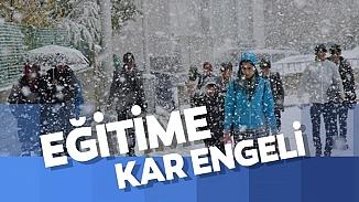 13 Şubat Perşembe günü 23 ilde eğitime kar tatili! Hangi il ve ilçelerde okullar tatil edildi?