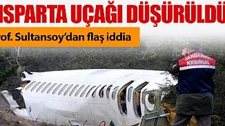57 kişi yaşamını yitirdiği Isparta uçağı ile ilgili müthiş iddia; Düşürüldü!