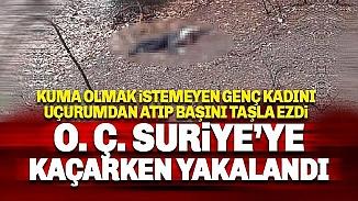 Adana'da uçurumda bulunan kadın cesedinin faili tutuklandı