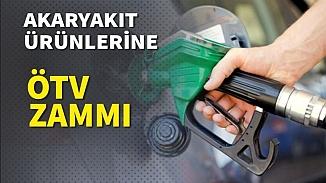Akaryakıt ürünlerine ÖTV zammı! Zam kararı gece imzalandı