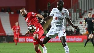 Antalyaspor-Sivasspor golsüz beraberlik