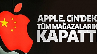 Apple, korona virüsü molası verdi! Çin'deki tüm mağazalar kapandı