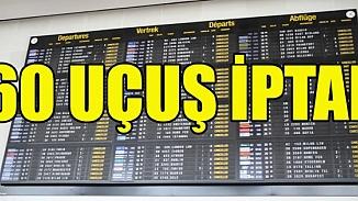 Avrupa'da fırtına alarmı! Brüksel'de uçuşlar durduruldu