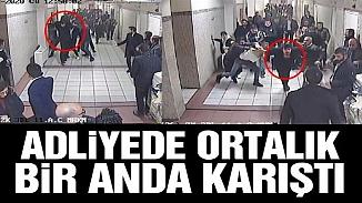 Bakırköy adliyesinde avukata darp! 15 kişi saldırdı