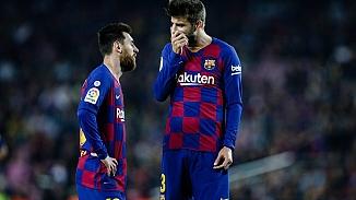 Barcelona'da 2 yıldız kavga etti